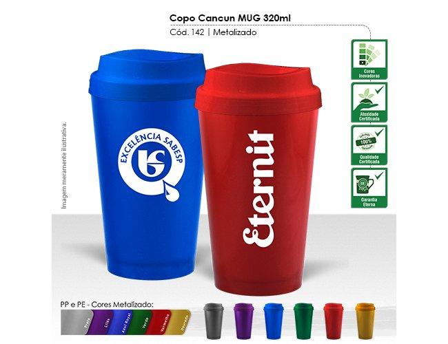 Copo Cancun MUG 320ml Modelo INF 142