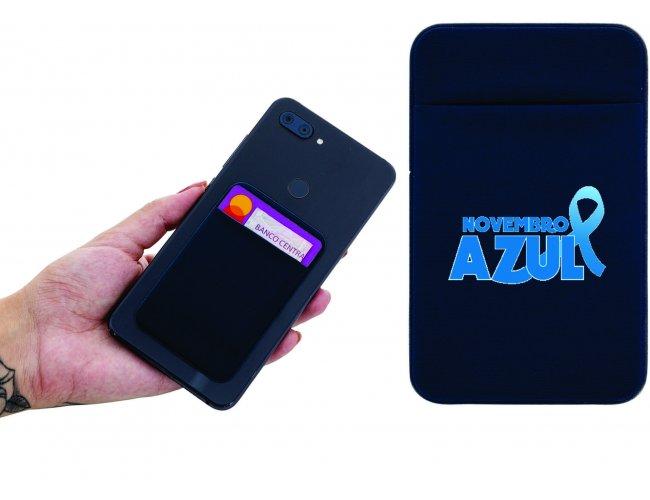 Porta cartão com adesivo para celular Modelo INF 14344