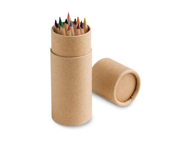 Caixa com 12 lápis de cor Modelo INF 51752
