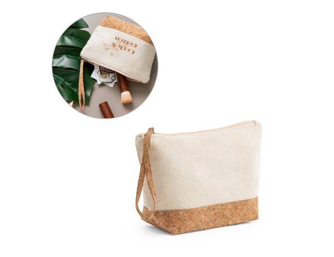 Bolsa de cosméticos 100% algodão Modelo INF 92735