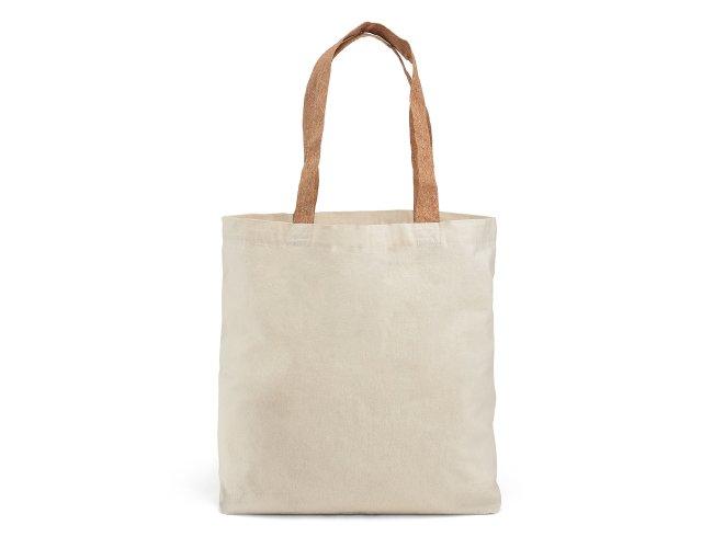 Sacola. 100% algodão: 180 g/m². Com bolso interior Modelo INF 92869  45x40