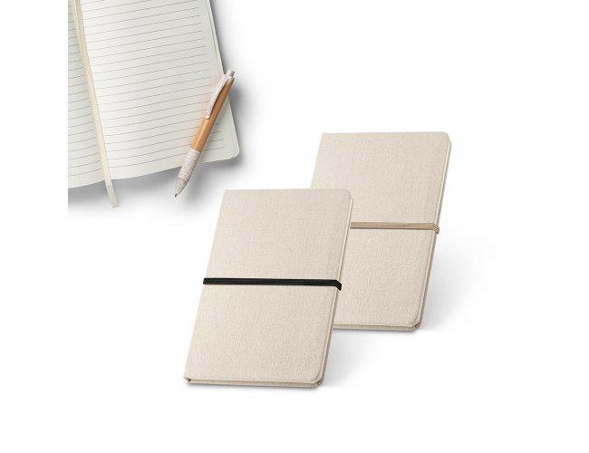 Caderno capa dura. Linho 230 g/m² Modelo INF 93270  21 x 14