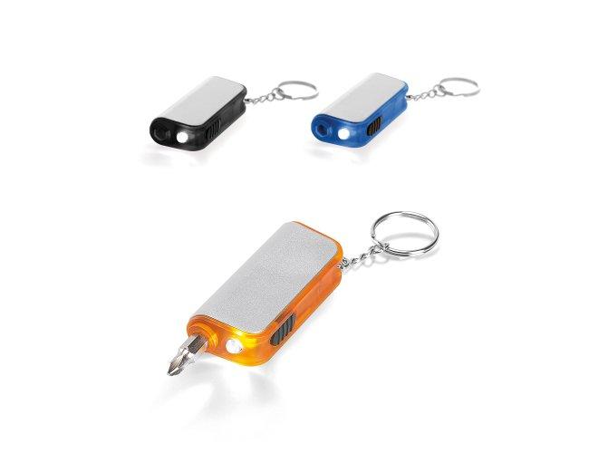 Chaveiro. Com LED e ferramenta Modelo NF 94006