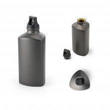Squeeze. Alumínio. Com tampa em PP. Capacidade: 600 ml Modelo INF 94062