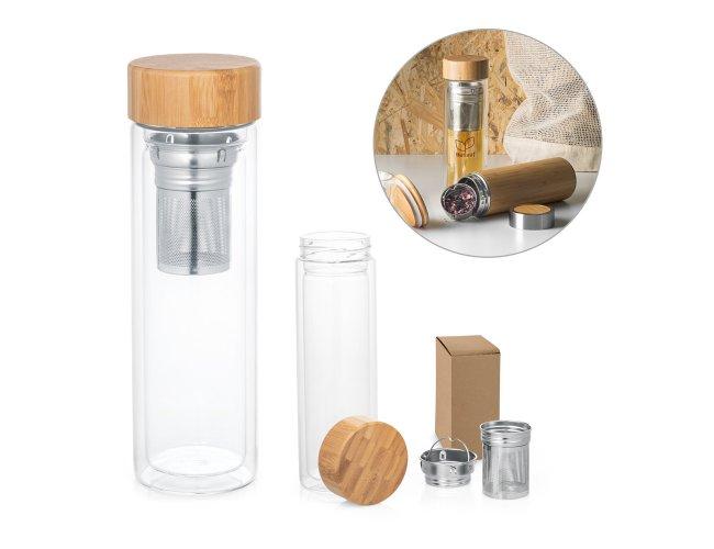 Garrafa com infusores 490 ml Modelo INF 94765