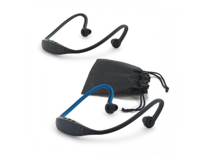 Fone de ouvido. ABS e silicone. Com transmissão por bluetooth Modelo INF 97341