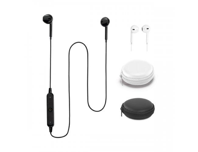 Fone de ouvido, ABS e PVC. Bluetooth Modelo INF 97368