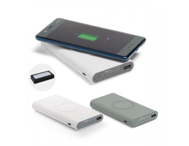 Bateria portátil wireless. ABS. Emborrachado, Indução Modelo INF 97902