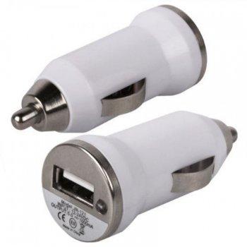 Adaptador USB para carro - Modelo INF 13235  Branco