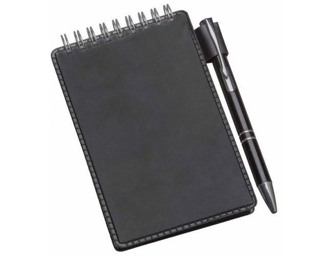 Bloco de anotações com caneta - Modelo INF 0234L