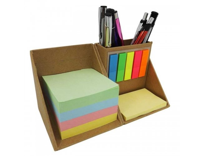 BLOCO DE MESA COM POST IT - MODELO INF SO 035