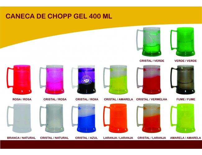 Caneca para Chopp Personalizado 400ml - Modelo INF 0042 (GEL)