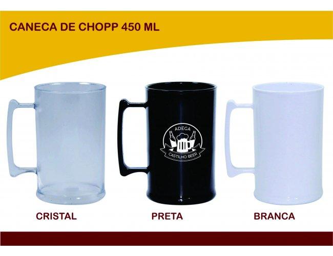Caneca para Chopp Personalizado 450ml - Modelo INF 0041