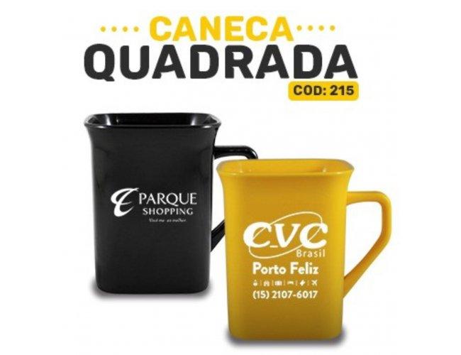 CANECA QUADRADA - MODELO INF 215