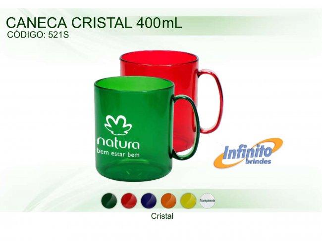 CANECA CRISTAL (400 ml) - INF 0521