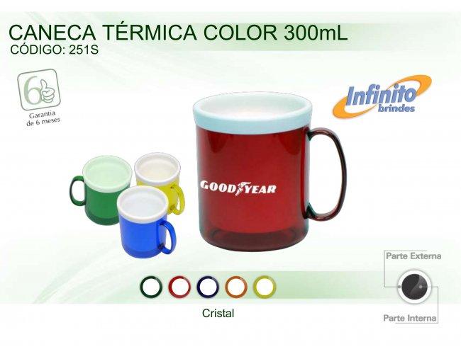 CANECA TÉRMICA COLOR (300ml) - INF 0251