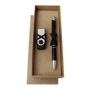 KIT Caneta e Pen drive Modelo - INF 10195