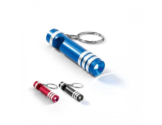 Chaveiro de Metal com Led e Abridor - Modelo INF 93154