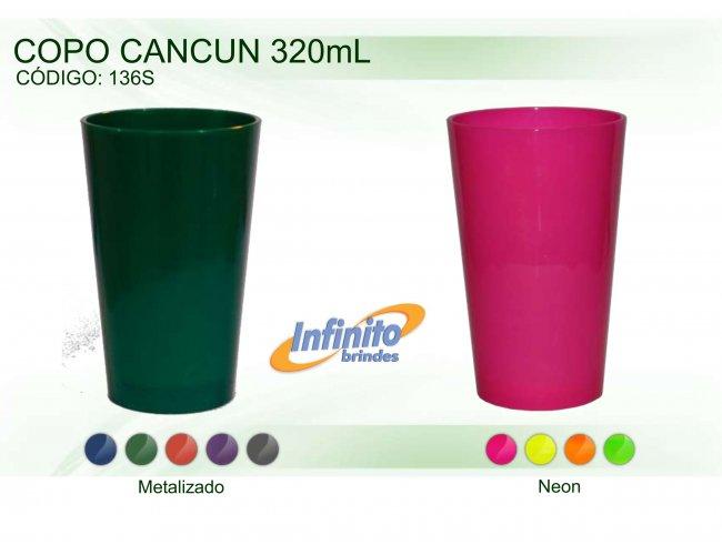Copo Cancun Neon - Modelo INF 136S