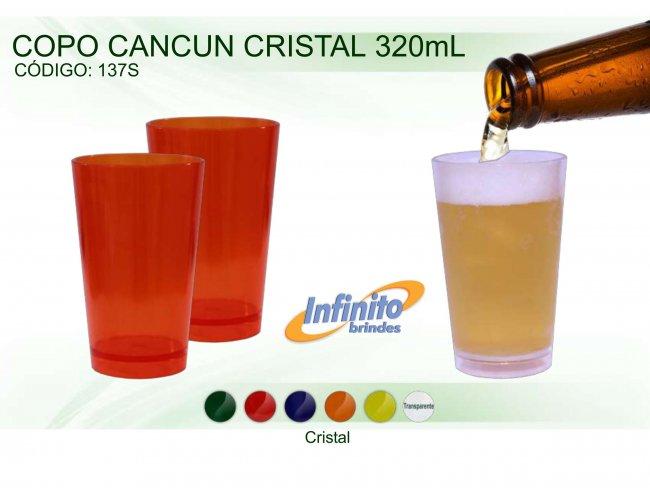 Copo Cancun Cristal - Modelo INF 137S