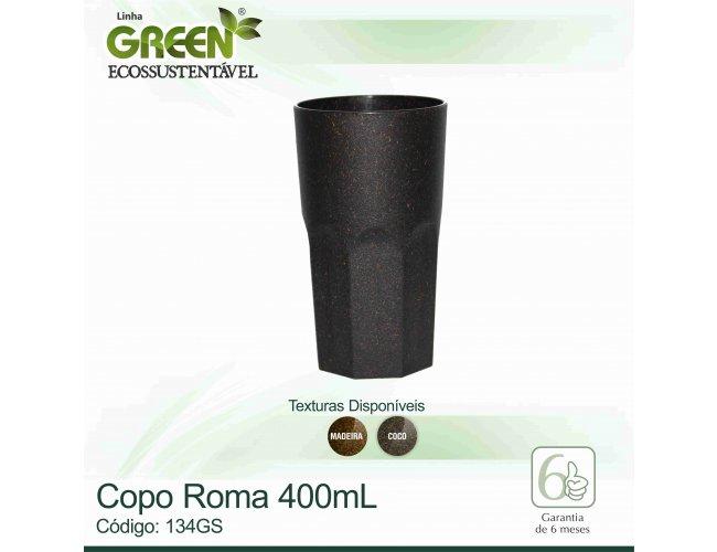 Copo Roma Green - Modelo INF 134GS