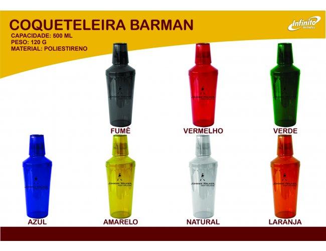Coqueteleira Barman - Modelo INF 0011K