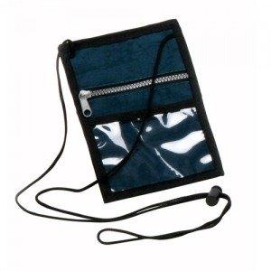 Porta Crachá em Nylon 70 com bolso - Modelo INF PC0278