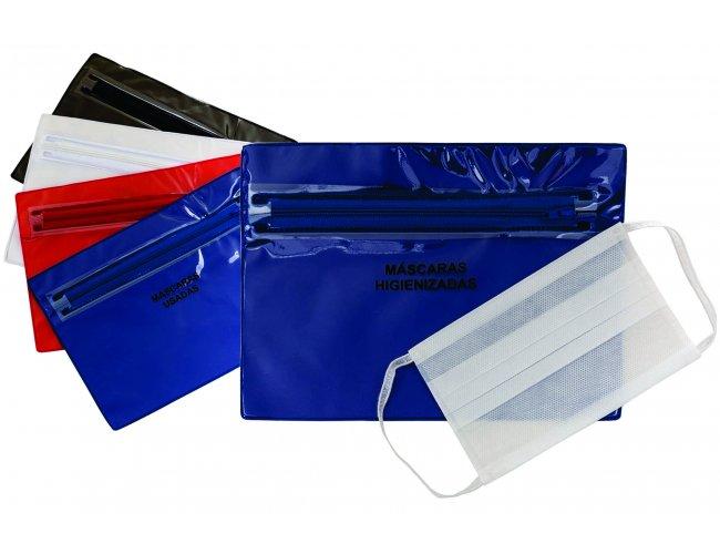 Envelope plástico com ziper duplo - Modelo INF 14556G