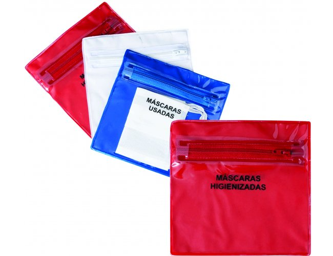 Envelope plástico com ziper duplo - Modelo INF 14557P