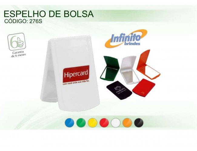 ESPELHO DE BOLSA BRANCO - INF 0276