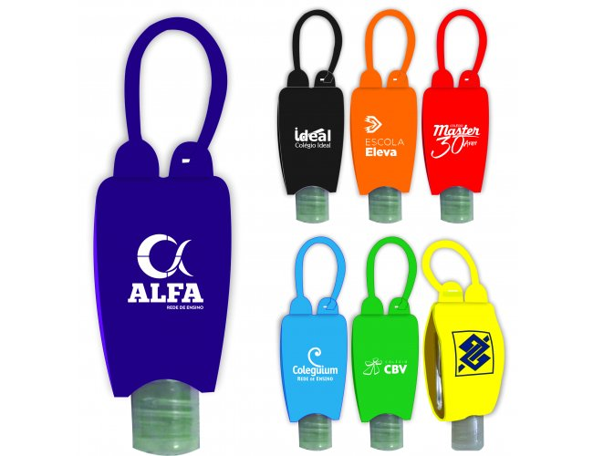 Porta Álcool gel Chaveiro Versão Pocket Bag Modelo NF 303