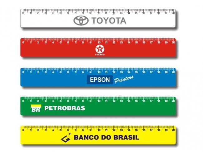 REGUA EM PVC (20cm) - INF 10300