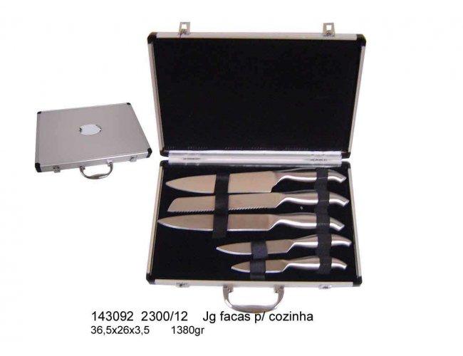Jogo de Facas para Cozinha - Modelo INF 143092