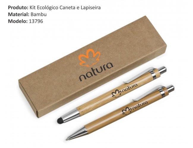 kit caneta e lapiseira - Touch - Modelo INF 13796