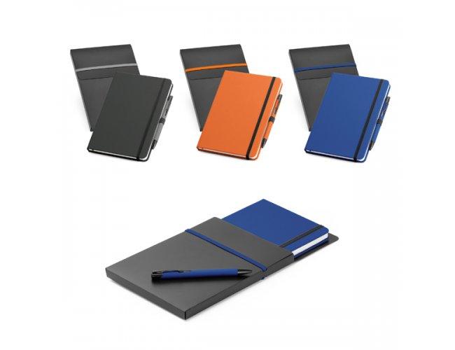 Kit de caderno e esferográfica Modelo 93795
