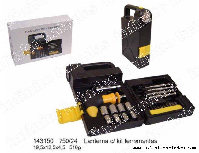 Kit Lanternas e ferramentas - Modelo INF 143150