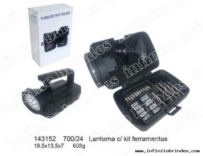 Kit Lanternas e ferramentas - Modelo INF 143152