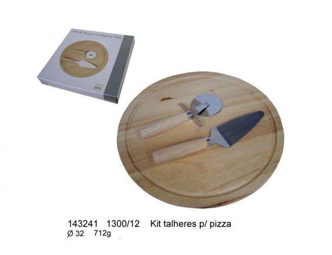 KIT TALHERES PARA PIZZA - MODELO INF 143241
