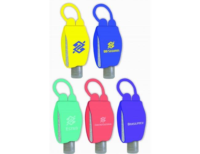 Porta Álcool gel Chaveiro Versão Pocket Bag - Modelo INF 303