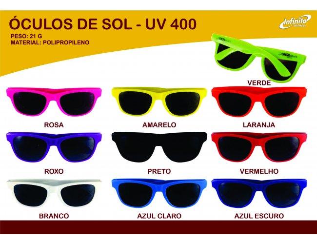Óculos de Sol Personalizado - UV 400 - Modelo INF 0014N