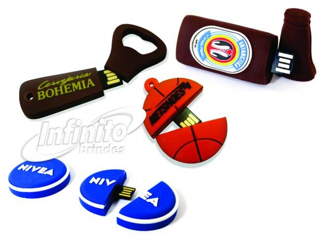 Pen drive Emborrachado - Modelo INF 10110