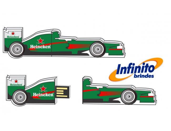 Pen Drive Estilizado - Modelo INF 10101 - Carro de Formula 1