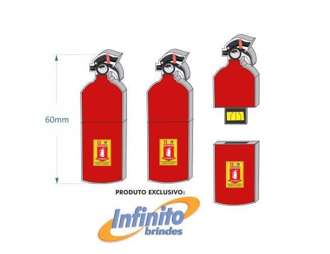 Pen drive Estilizado - Modelo INF 10101 - Extintor