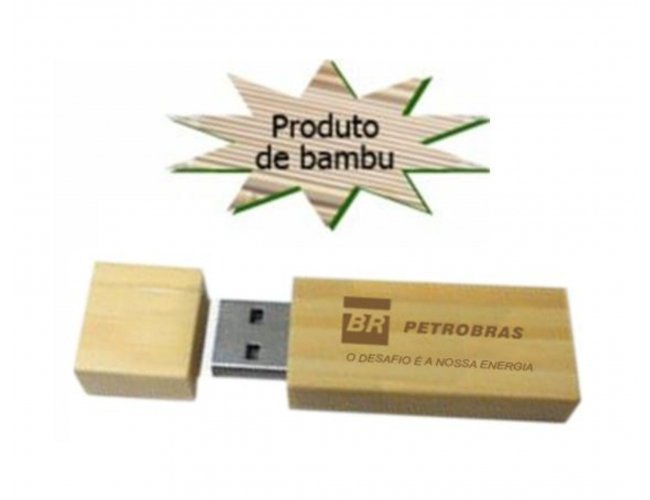 Pen drive Bambú - Modelo INF MM228   8GB