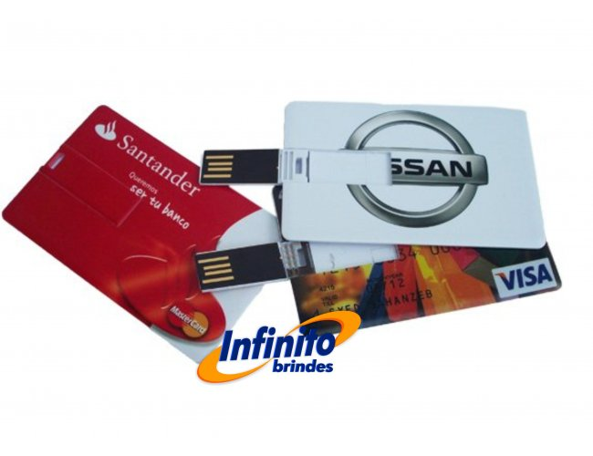 PEN DRIVE CARD - Modelo INF 10034   04GB