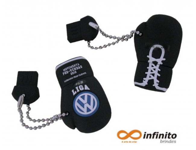 Pen drive Customizado - Luva de Box Modelo INF 10000