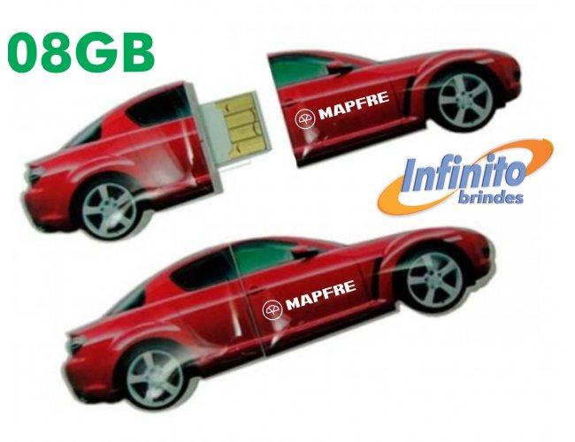 Pen drive Estilizado Formato de Carro - Modelo INF 10101  8GB