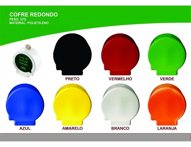 Cofre de Plástico Modelo INF 0025 Redondo