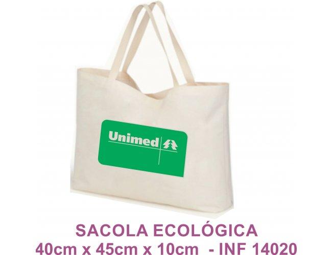 Sacola Ecológica 40cm x 45cm x 10cm Modelo INF 14020