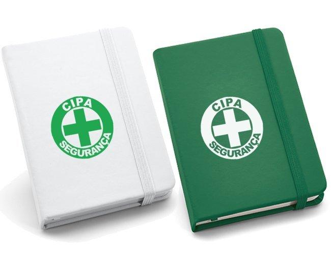 Caderno capa dura C. sintético Com 80 folhas  - Modelo INF 93425